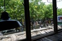 buskers at hongdae, seoul.
